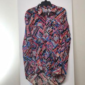 Western dress shirt.
